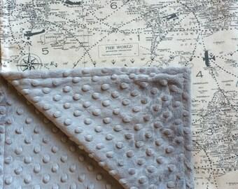 Map blanket etsy gumiabroncs Images