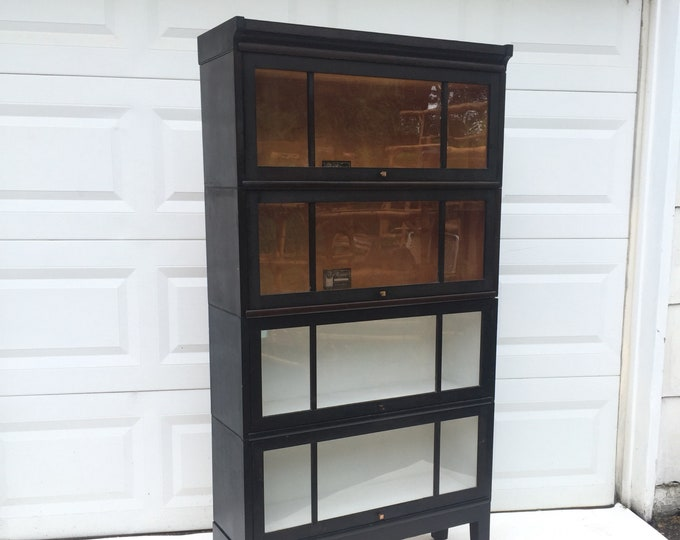 Vintage Barrister Bookcase by Viking