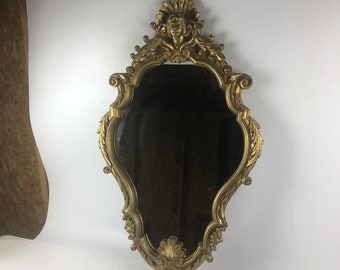 Antique Gilt Frame Mirror