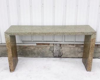 Vintage Hall Table After Karl Springer