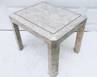Maitland-Smith Side Table-Vintage Modern