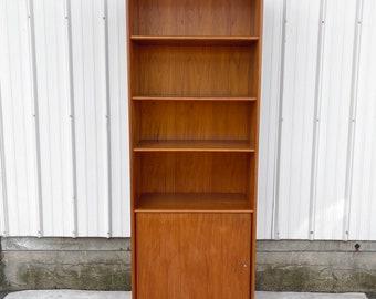 Vintage Modern Danish Teak Bookcase