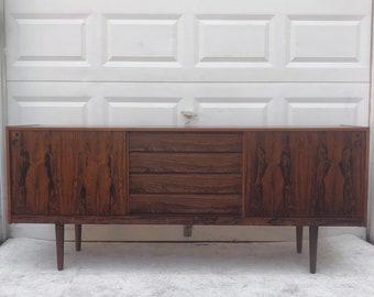 Mid-Century Rosewood Sideboard- Scandinavian Modern