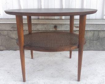Tall Mid-Century Lamp Table