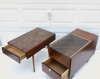 Pair Mid-Century Nightstands by George Nelson for Herman Miller