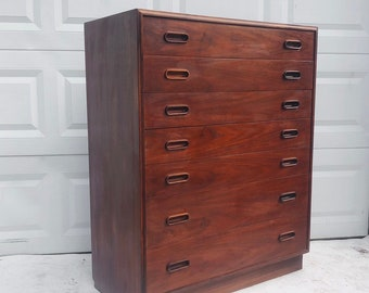Mid-Century Highboy Dresser by Founders