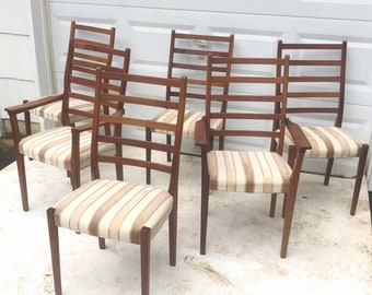 Mid-Century Rosewood Dining Chairs by Svegards Markaryd