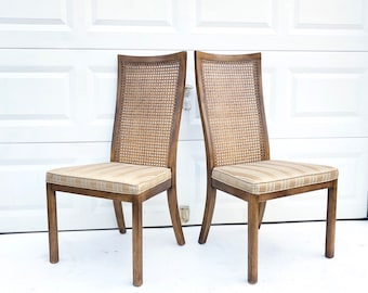 Set Of Six Vintage Dining Room Chairs By Drexel