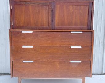 Mid-Century Highboy Dresser by Cavalier