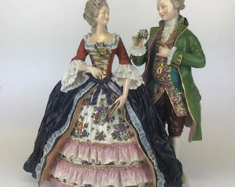 19th Century Capodimonte Porcelain Figurine