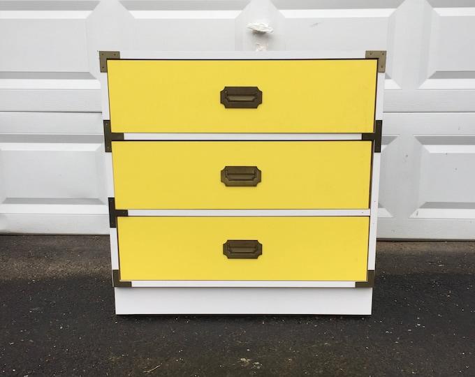 Vintage Modern Campaign Dresser