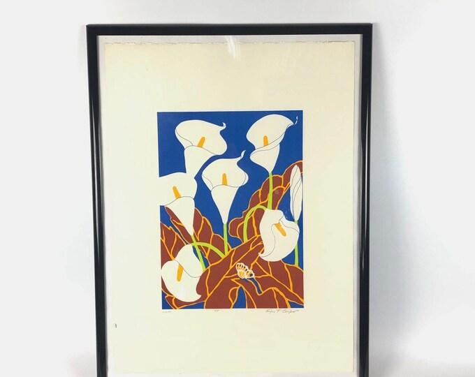 """Modern Art """"Lillies"""" by Ann T. Cooper"""