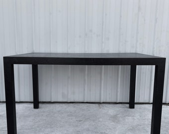 Vintage Modern Decorator Style Dining Table
