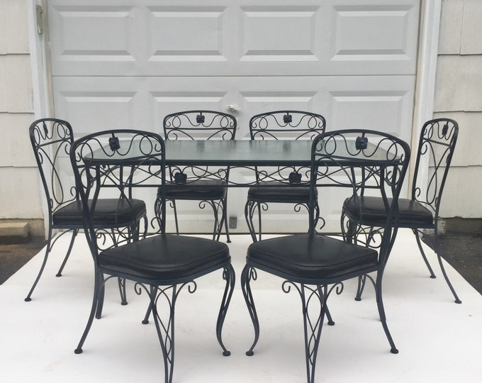 Salterini Style Patio Set with table and chairs SALE