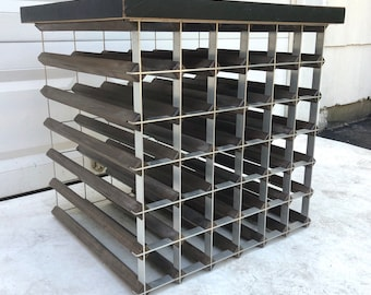 Vintage Modern Wine Rack
