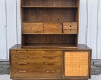 Mid-Century Credenza With Shelf Top