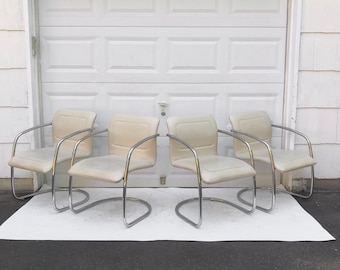 Mid-Century Modern Dining Chairs by Tulip Inc- Set of 4