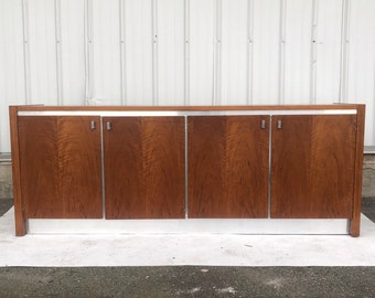 Mid-Century Sideboard attributed to Milo Baughman for Founders