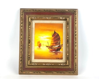 Vintage Sailboat Wall Art