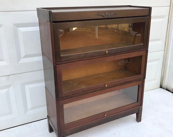 Vintage Barrister Bookcase by Udell
