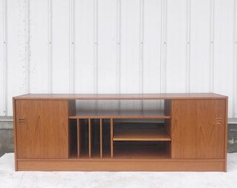 Scandinavian Modern Teak Credenza or Console Table