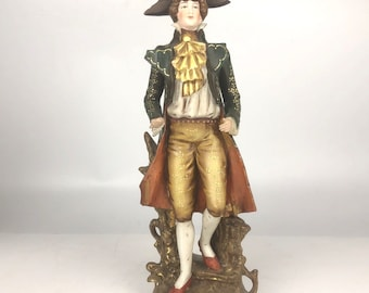 Antique Porcelain Figurine- French Soldier
