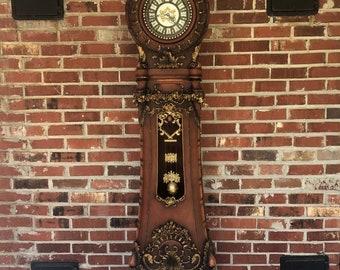 Impressive Antique Rococo Grandfather Clock