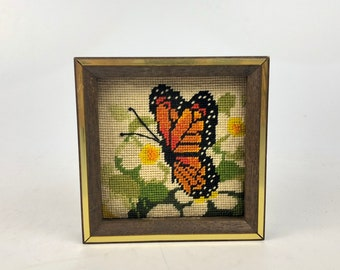 Small Vintage Butterfly Art