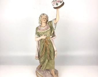 19th Century Rococo Figural Porcelain