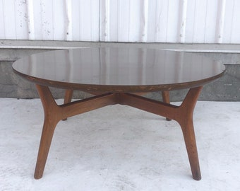 Mid-Century Circular Coffee Table