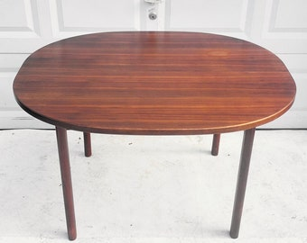 Mid-Century Dining Table With Extra Leaves- Scandinavian Modern