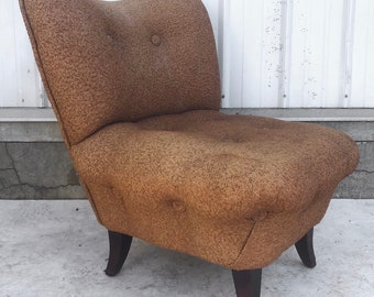 Vintage Modern Slipper Chair