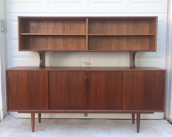 Mid-Century Sideboard With Topper by axel christiansen