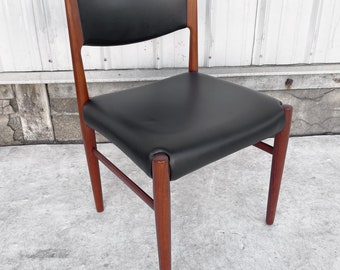 Scandinavian Modern Teak Desk or Dining Chair