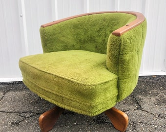 Mid-Century Swivel Lounge Chair by Adrian Pearsall