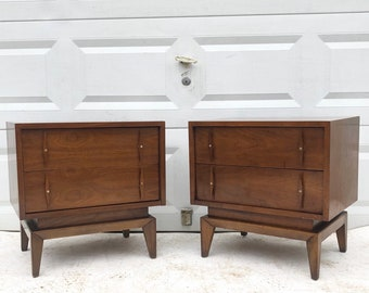 Mid-Century Nightstands by American of Martinsville