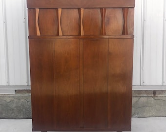 Tall Mid-Century Bureau by American of Martinsville