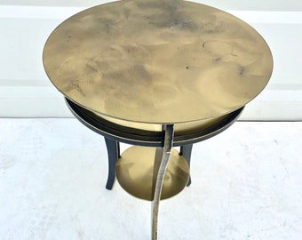 Vintage Modern Mastercraft Style End Table