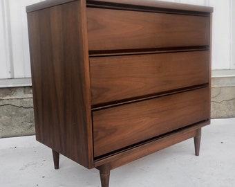Mid-Century Modern Three Drawer Dresser