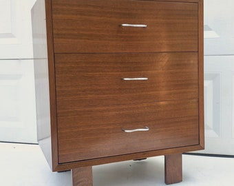 George Nelson for Herman Miller Three Drawer Dresser c. 1950s