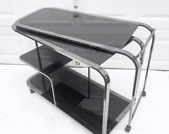 Modern Vintage Bar Cart by Design Institute of America