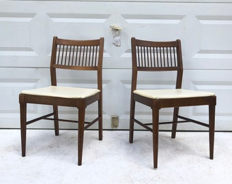 Pair Johnson Carper Dining Chairs