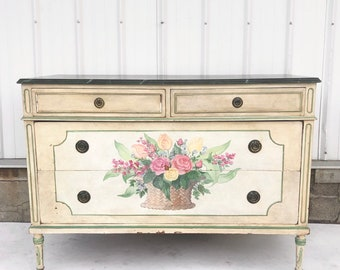 Vintage French Country Commode
