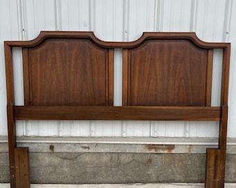 Mid-Century Modern Walnut Headboard (full/queen)