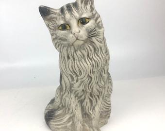 Vintage Cat Sculpture
