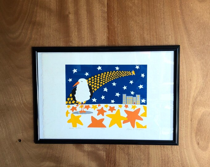 "Signed Artist Print, ""General De Gull"" by Ann T. Rice"