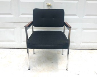 Mid-Century Office Arm Chair by Shaw Walker