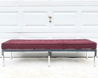 Vintage Modern Bench attributed to Knoll