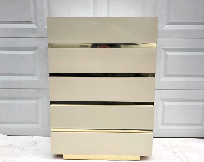 Elegant Modern Highboy Dresser