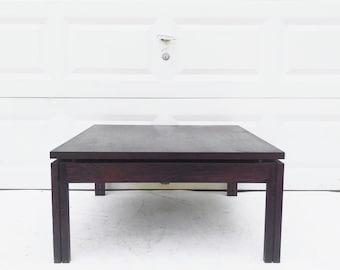Vintage Wood Coffee Table